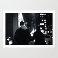 42nd Street Stroll Art Print
