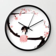 Gentle Blossom Wall Clock
