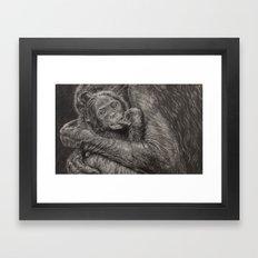I protect you Framed Art Print