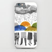 Cloudy Days For Uppercas… iPhone 6 Slim Case