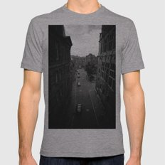 Edinburgh Mens Fitted Tee Athletic Grey SMALL