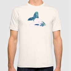 Opal Mermaid Mens Fitted Tee Natural SMALL