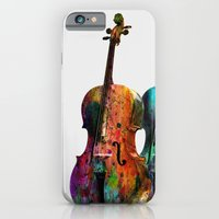 iPhone & iPod Case featuring  MUSIC by mark ashkenazi