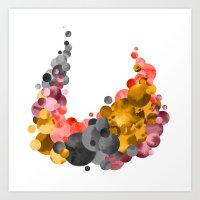 Cradle & Moon Art Print