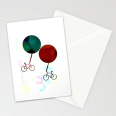 Travel in life Stationery Cards