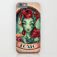 iPhone & iPod Case featuring TOXIC pinup by Tim Shumate