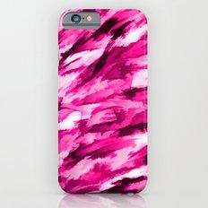 Designer Camo in Hot Pink Slim Case iPhone 6s