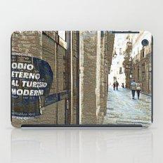 Barcelona digital street photography + Dreamscope iPad Case