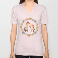Otterly Grateful Unisex V-Neck