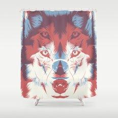 WOLF 3D Shower Curtain