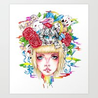 You're All Mad Art Print