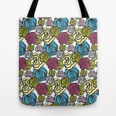 Bold roses Tote Bag