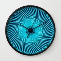 Circular Optical Illusion Wall Clock