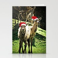 Tis The Season - Reindeer Stationery Cards