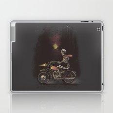 Death Rides in the Night Laptop & iPad Skin