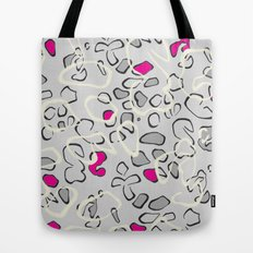 Leopard print 3 Tote Bag