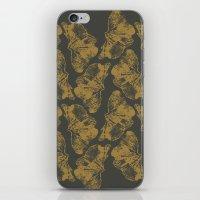 Ginkgo Fossils - Dark iPhone & iPod Skin
