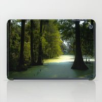 Swamp Land iPad Case