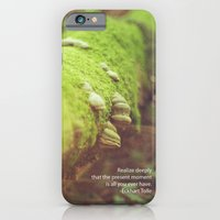 iPhone & iPod Case featuring This Present Moment by Adam Ragan