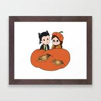 Tasertricks Halloween 20… Framed Art Print