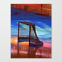 Empty Net Canvas Print