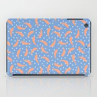 Peach Banana Peel On Pur… iPad Case