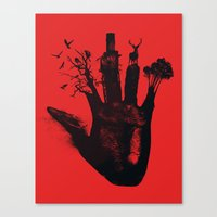 1 4d money 4 for life Canvas Print