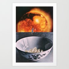 Crystal Bowl Art Print