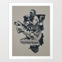 The Light That Failed Art Print