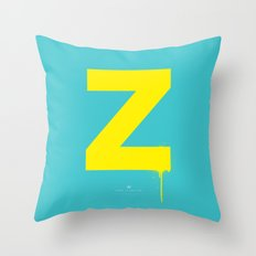 Z. Throw Pillow