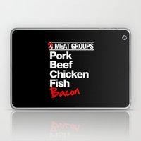 5 Major Meat Groups Laptop & iPad Skin