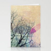 2 Trees Stationery Cards