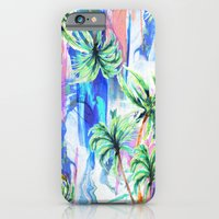 iPhone & iPod Case featuring Palm trees by Nikkistrange
