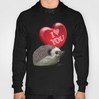 Hedgehog In Love With A … Hoody