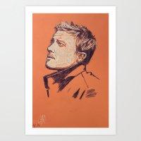 Jeremy Renner Art Print