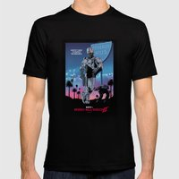 Beverly Hills Robocop 2 Mens Fitted Tee Black SMALL