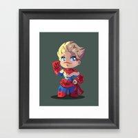 Carol Framed Art Print
