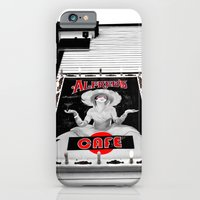 iPhone & iPod Case featuring Classic cafe sign by Vorona Photography