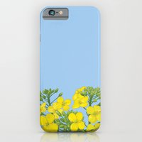 Summer flower in yellow iPhone 6 Slim Case