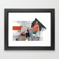 Football Fashion #1 Framed Art Print