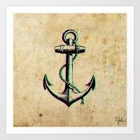 anchorz Art Print