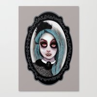 ٩♥»- Harajuku Vampir… Canvas Print
