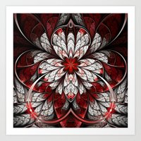 Bleeding Art Print