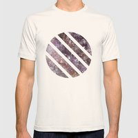 IPHONE: GEOCIRCLE Mens Fitted Tee Natural SMALL