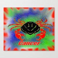 Cancer Canvas Print