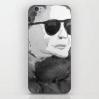 Shades (B&W) iPhone & iPod Skin