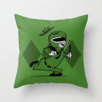 power ranger smith. Throw Pillow