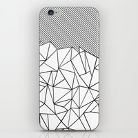 Ab Lines 45  iPhone & iPod Skin