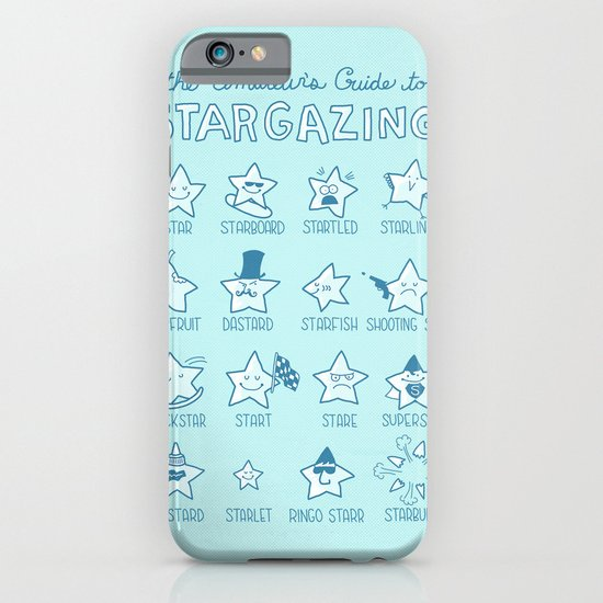 The Amateur's Guide to Stargazing iPhone & iPod Case