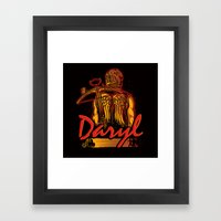 Daryl Framed Art Print